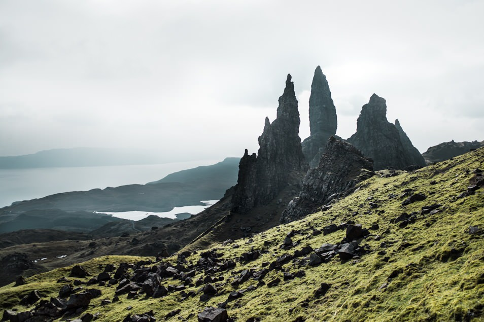 Old Mann of Storr, Skye, Ecosse