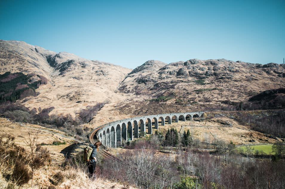 Road trip Ecosse, le pont d'Harry Potter