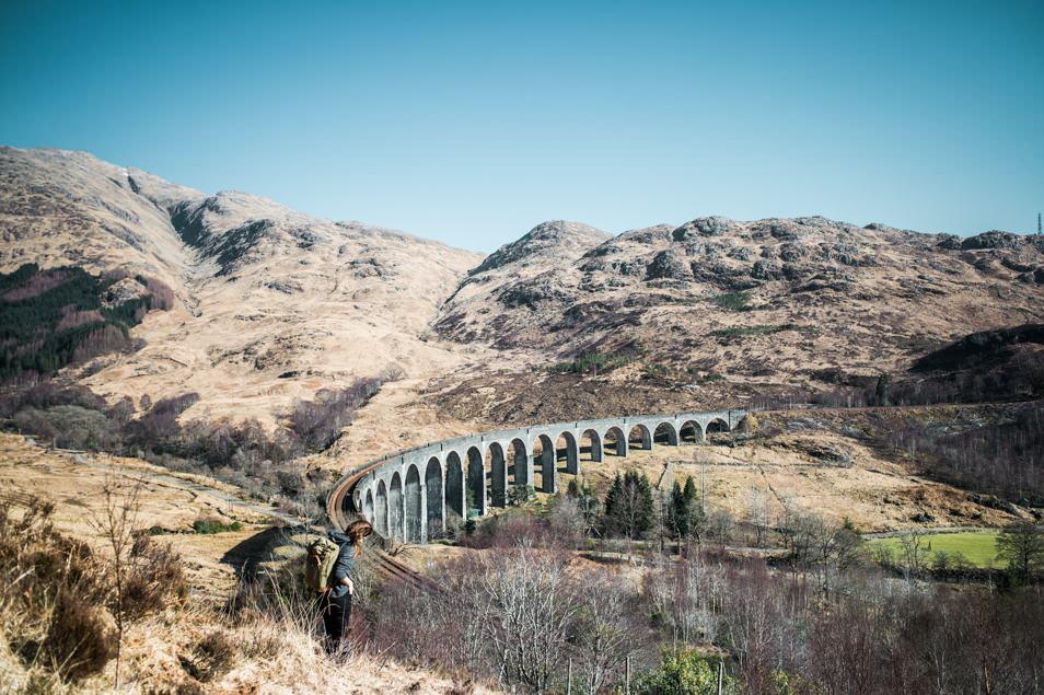 Road trip Ecosse, le pont d'Harry Potter