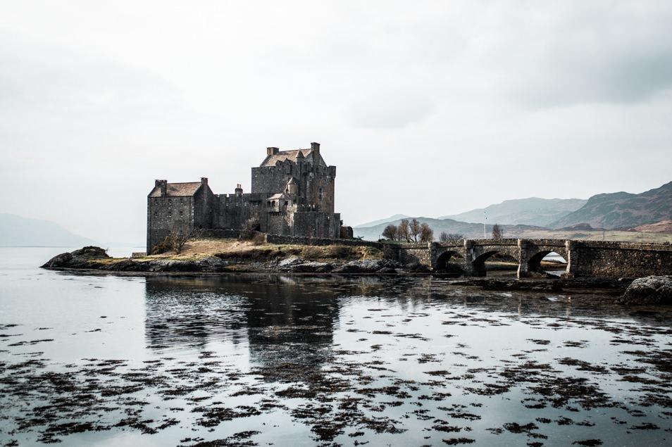 Le château Eilean Donan, Écosse