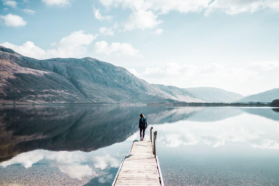 Road trip en cosse la beaut des highlands carnets de for On traverse un miroir