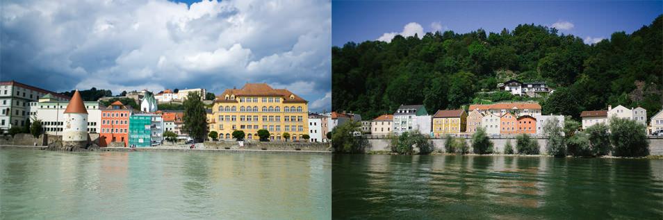 Rivières, Passau, Bavière