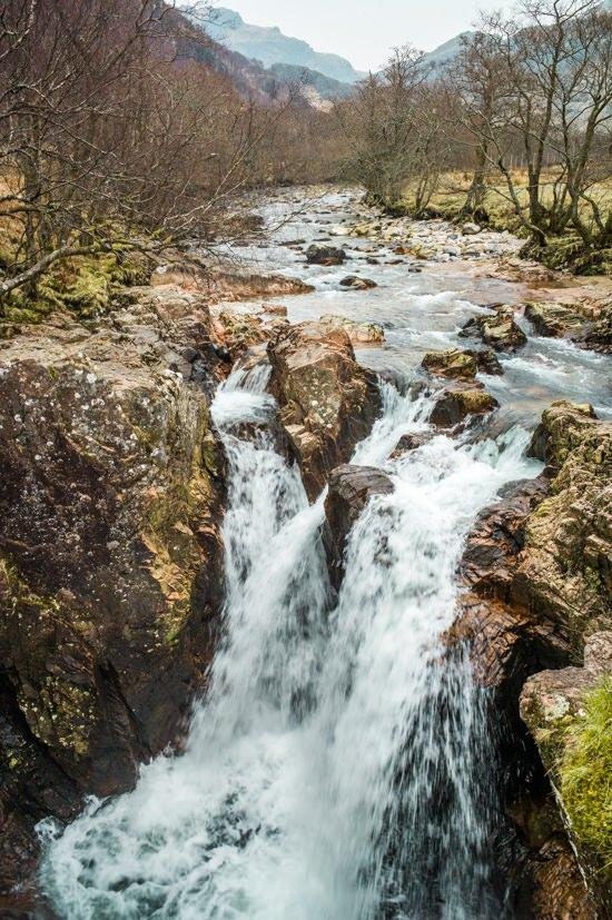 Glen Nevis, cascade