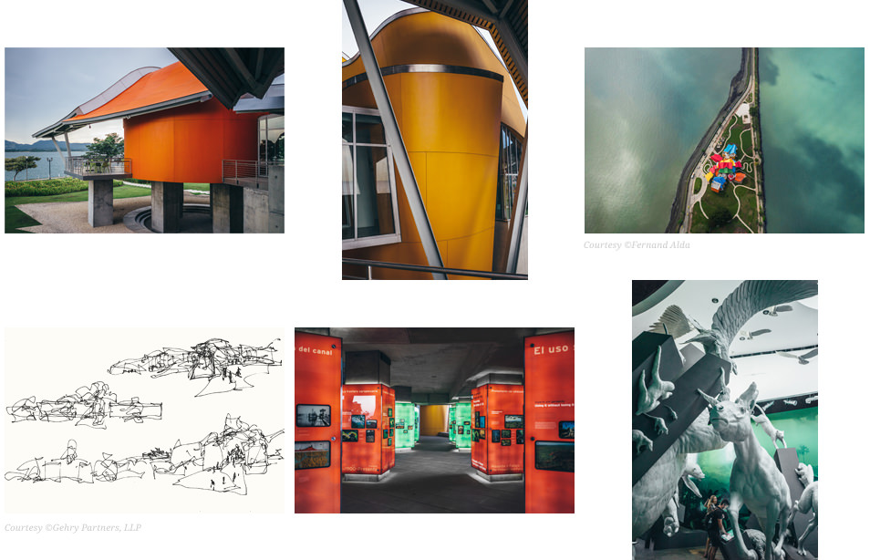 Photos du Panama - BioMuseo Frank Gehry