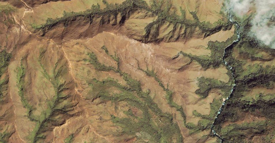 Google Earth - Ceinture de feu du Pacifique, Panama