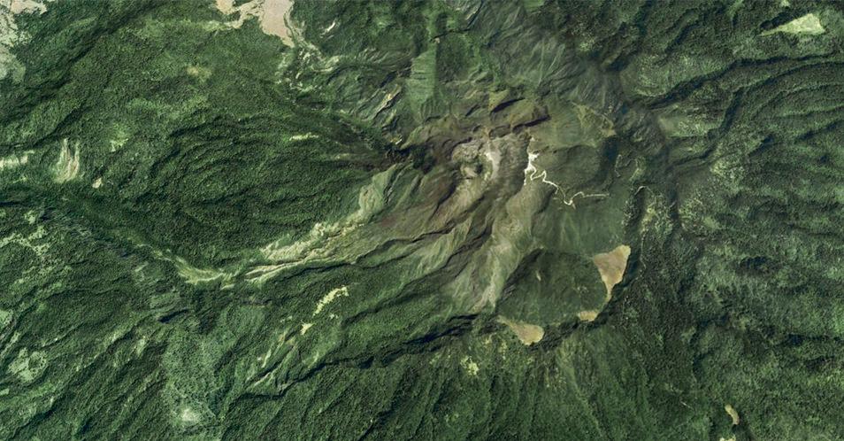 Google Earth - Volcan Baru, Panama