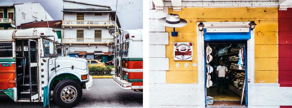 Photos du Panama - Quartier français