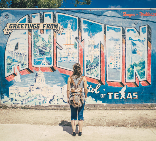 Road trip USA - Greetings from Austin, Texas