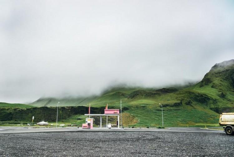 Voyage en Islande - Station essence