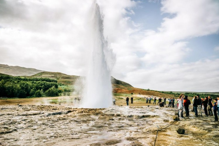 Voyage en Islande - Geyser