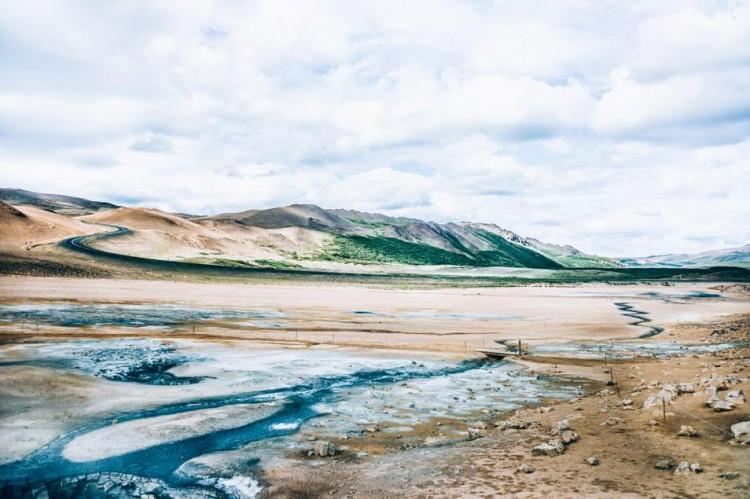 Voyage en Islande - Namajfall