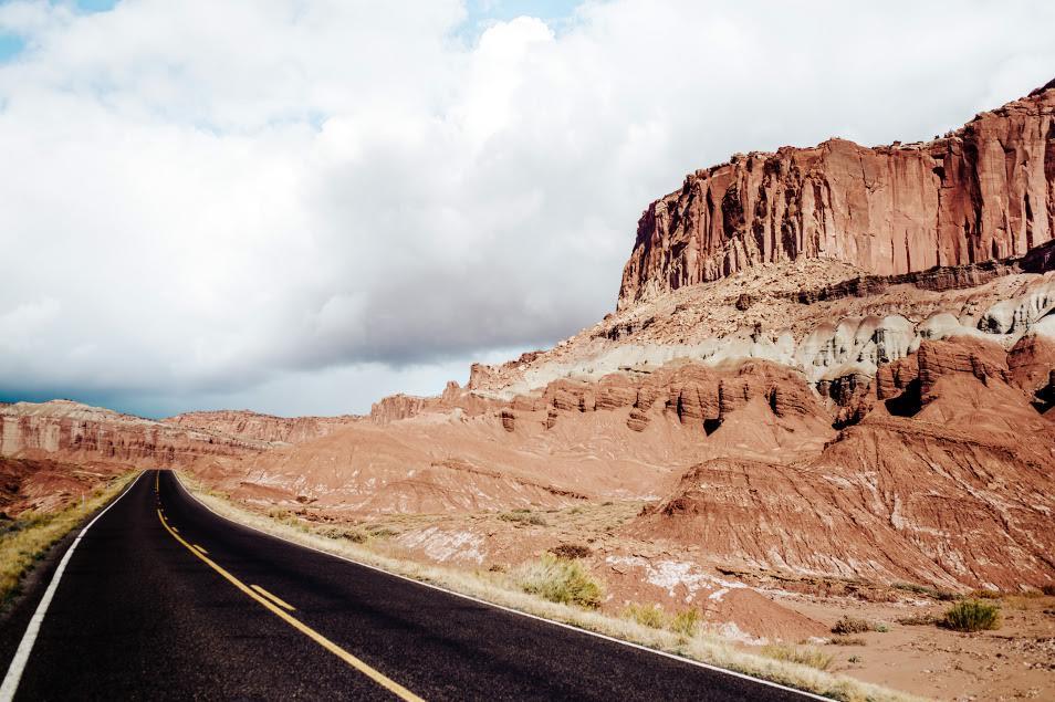 Road trip dans l'Ouest Americain - Capitol Reef National Park, Utah