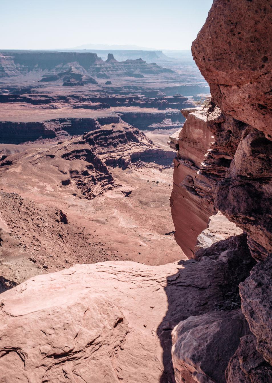 Road trip dans l'Ouest Americain - Dead Horse Point, Utah