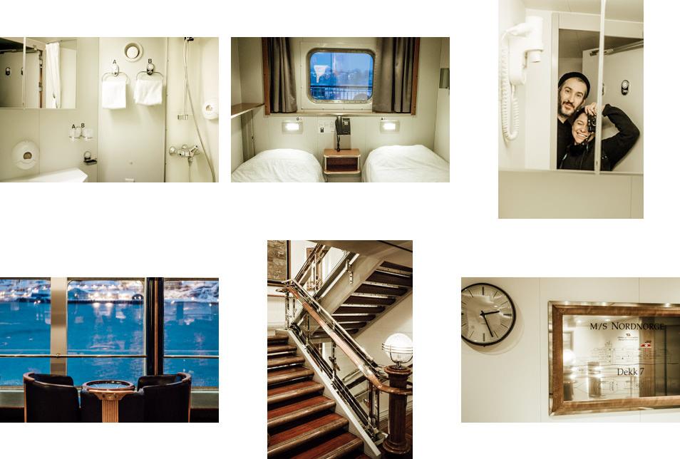 Intérieur Navire Hurtigruten Cabine Salon