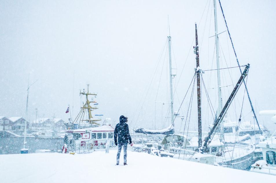 Port de Bodø - Escale Hurtigruten