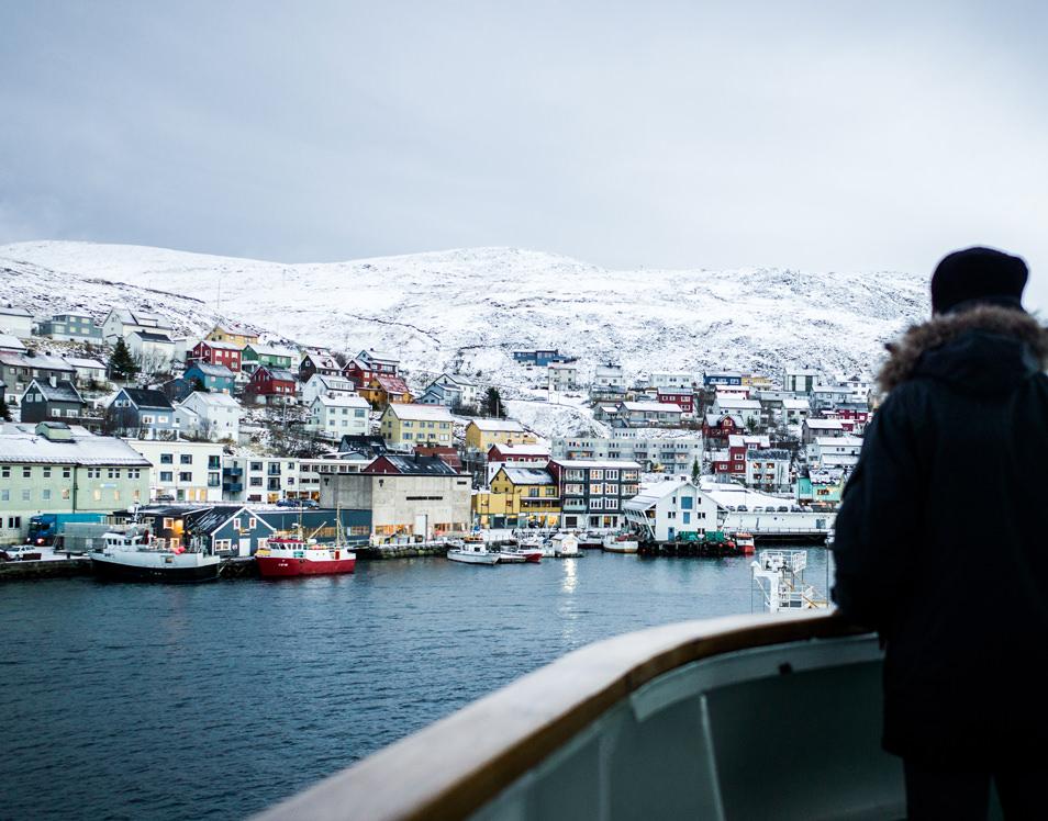 cap nord honnigsvag norvege croisiere hurtigruten