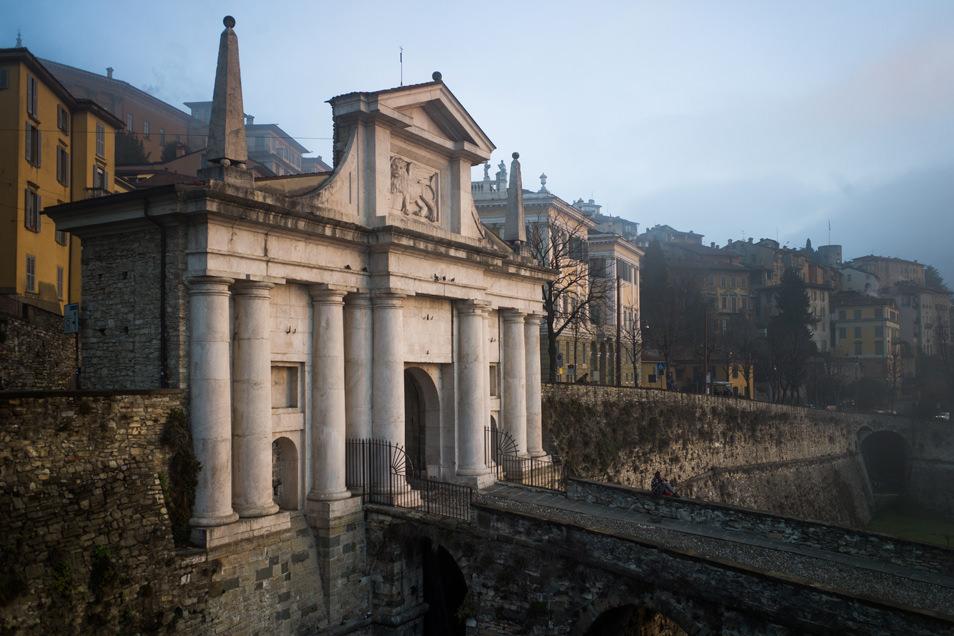 Visiter Bergame : Porte Venitienne San Giacomo