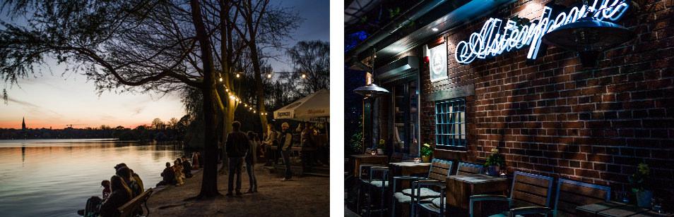 Bar à Hambourg : Alsterperle