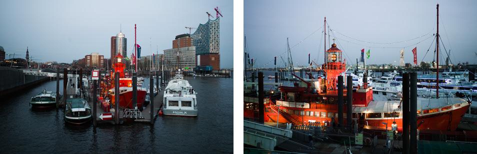 Bar à Hambourg : das Feuerschiff