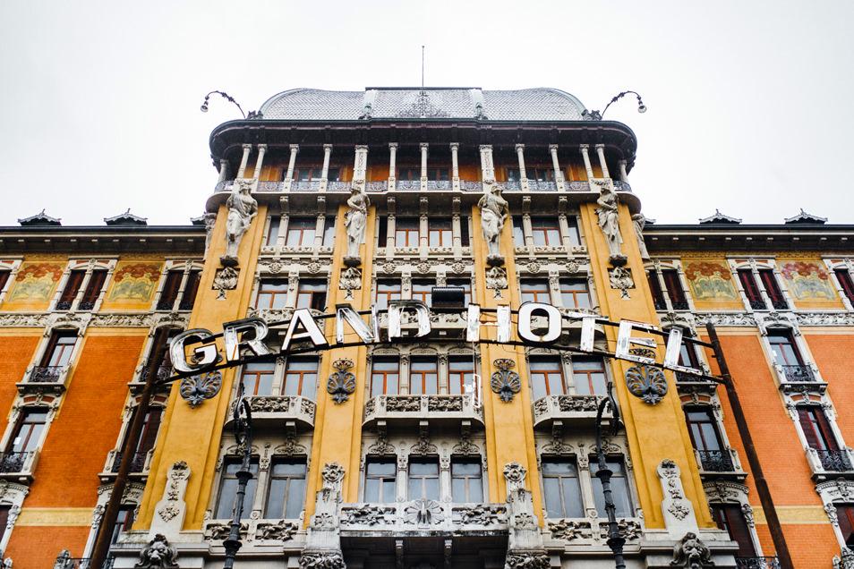 Visiter Bergame : San Pellegrino, le Grand Hotel