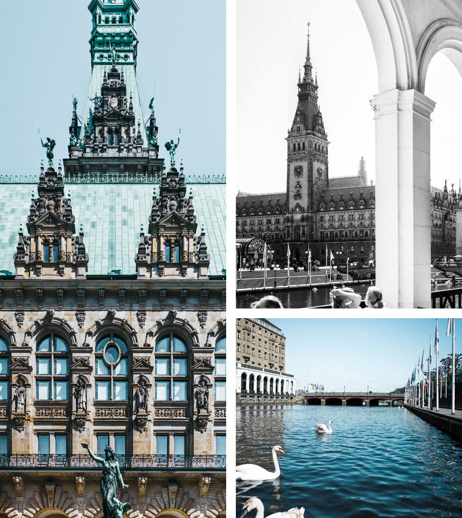 Visiter Hambourg Rathaus LHtel De Ville