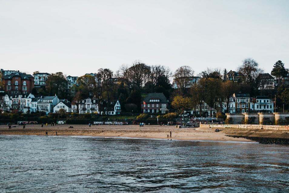Visiter Hambourg : la plage