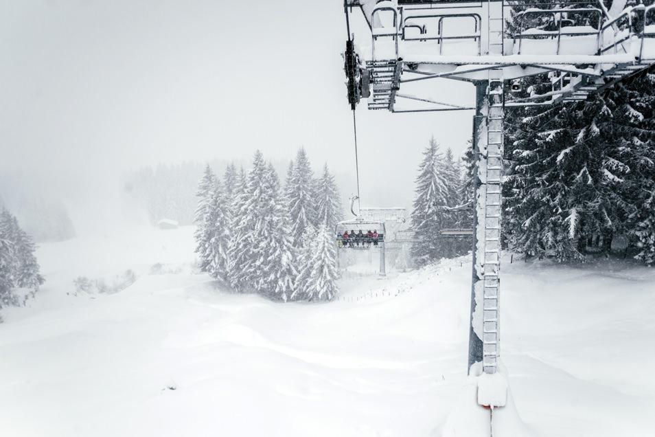 Le ski, Tyrol, Autriche