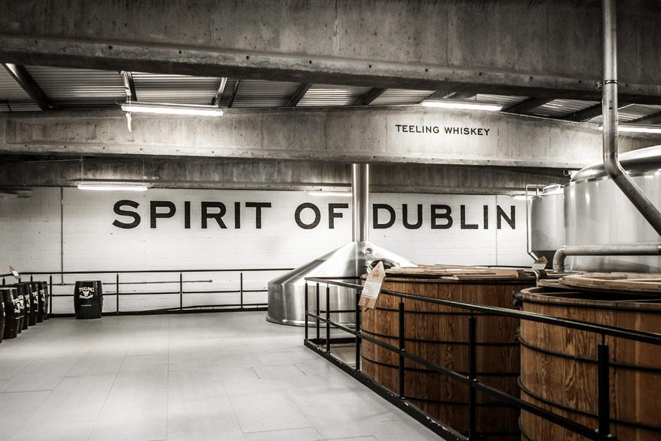 Visiter Dublin : Distillerie Whisky Teeling