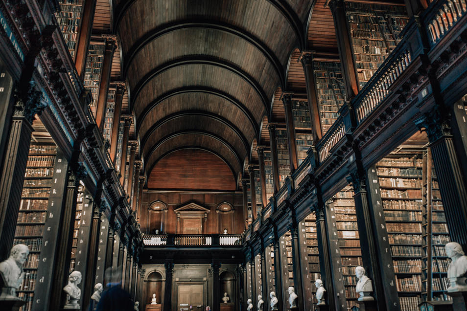Visiter Dublin Old Library Trinity College