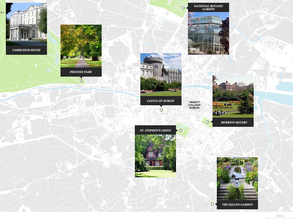 Visiter Dublin : parcs et jardins