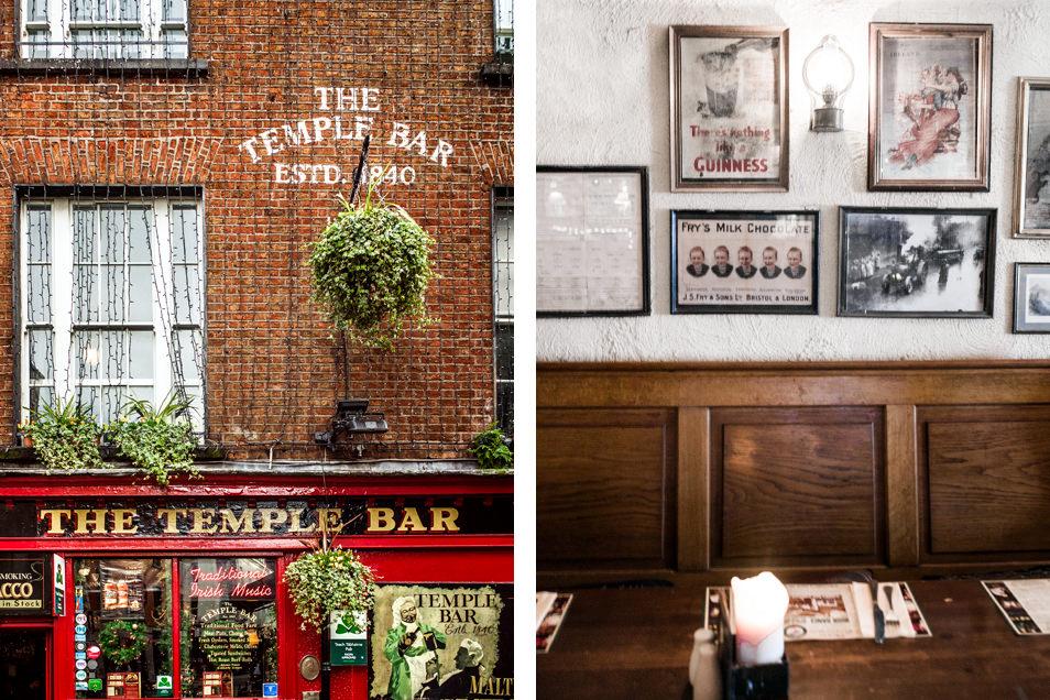 Visiter Dublin : Temple Bar
