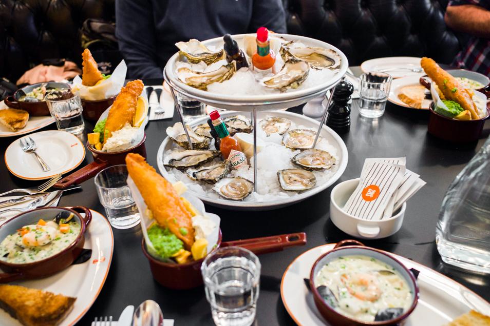 Week-end à Dublin - Restaurant de fruits de mer