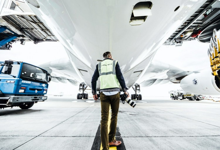 Sous un A380 ! - Hub Air France aéroport CDG