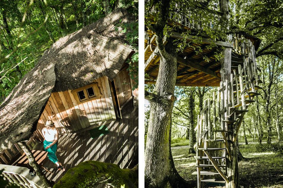 Notre cabane dans les arbres !