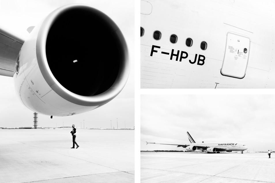 Photos Avion Air France aéroport CDG