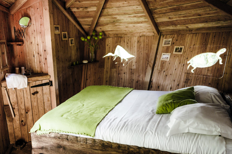 cabane dans les arbres un week end g nial dans le berry carnets de traverse. Black Bedroom Furniture Sets. Home Design Ideas