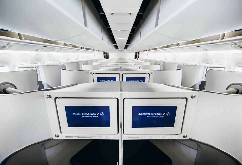 Business Class Air France - Dernières cabines BEST