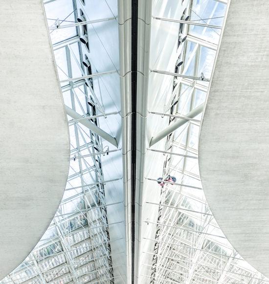 Verrière inspirée du Concorde, Aéroport Charles de Gaulle