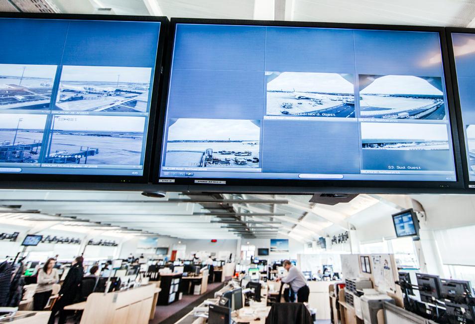 Centre de Commandement Air France Hub CDG2