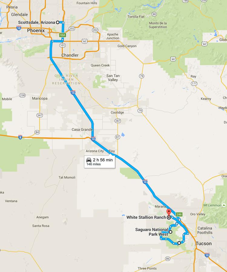 Road trip Arizona - De Scottsdale à Saguaro NP