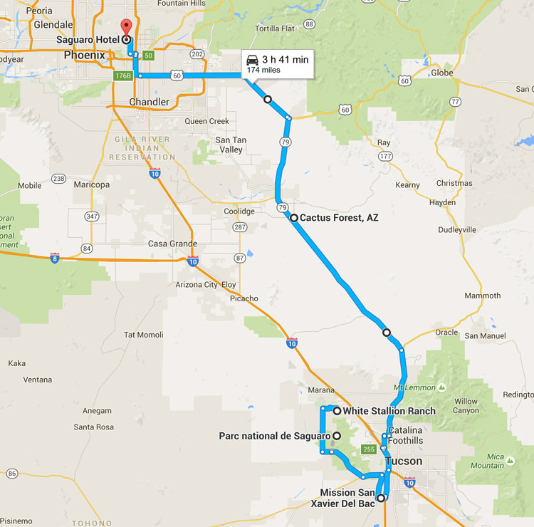Road trip Arizona - De Tucson à Scottsdale