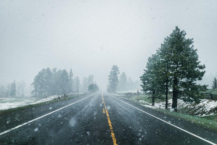 Viatge per carretera Colorado, a la carretera