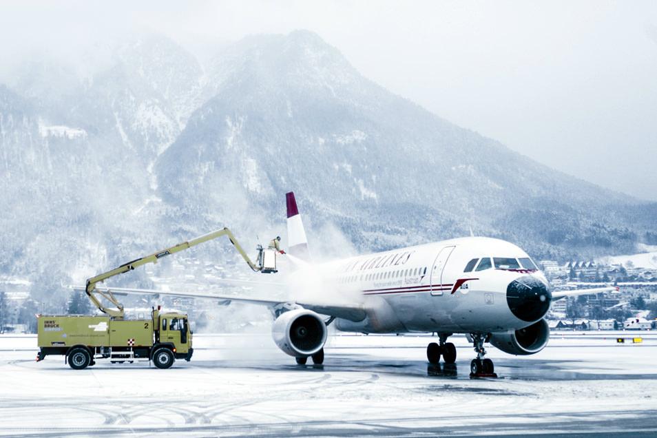 Tyrol Autriche - Aéroport Innsbruck