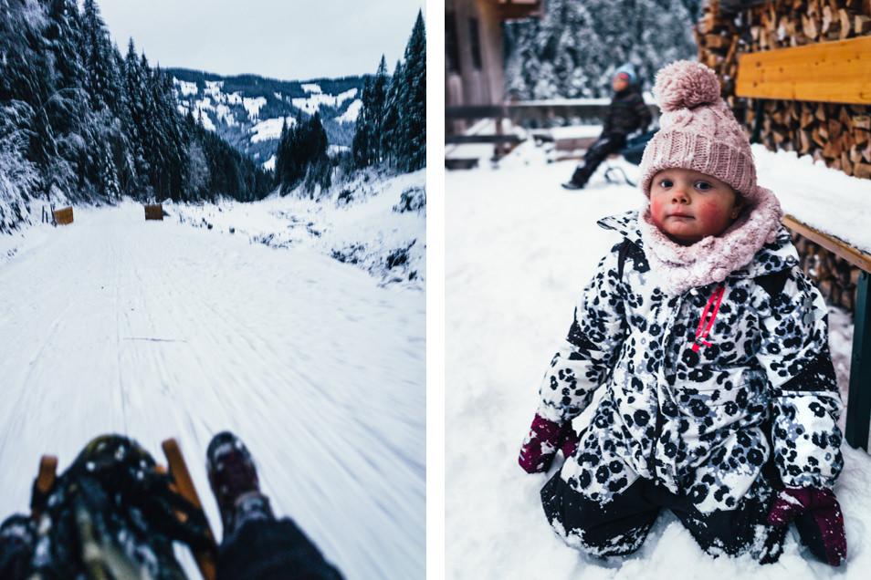 Tyrol - Rando en raquettes et luge