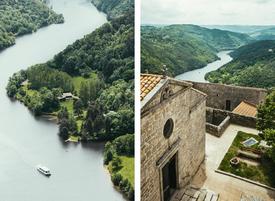 Forez, Gorges de la Loire : Donjon de Chambles