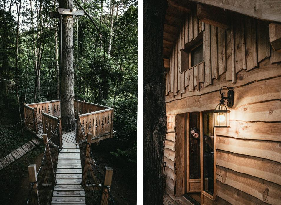 Cabanes dans les arbres - Loire Forez