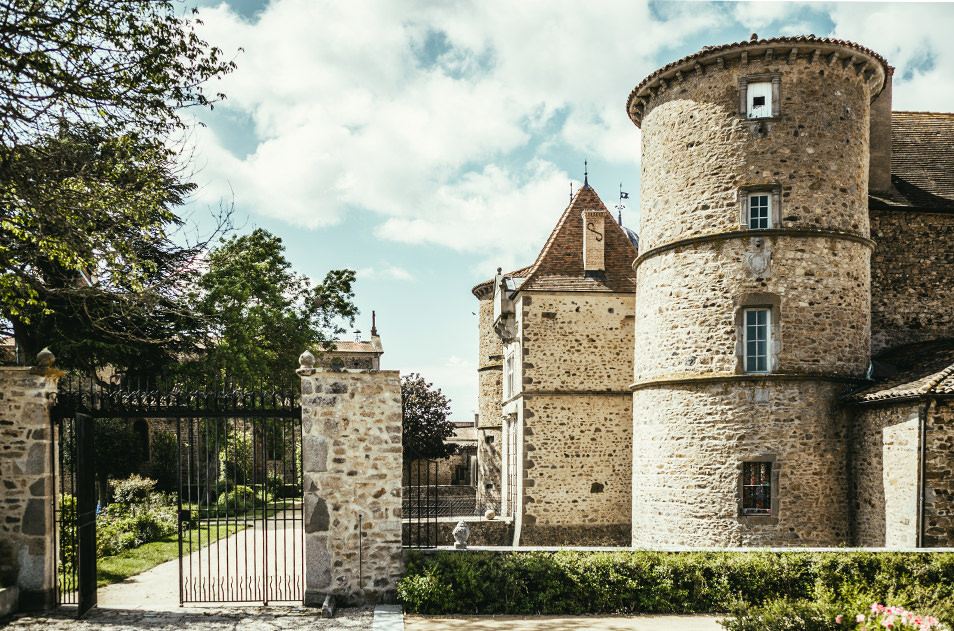 Loire Forez - Chateau St Marcel de Felines