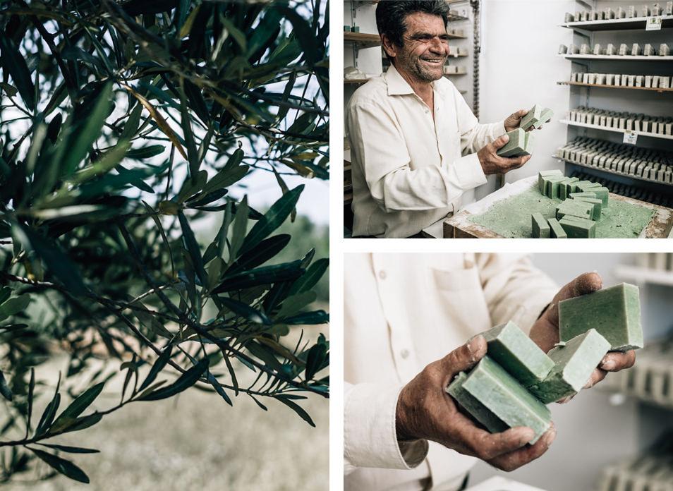 Savons à l'huile d'olive, Appolona, Rhodes, Grèce