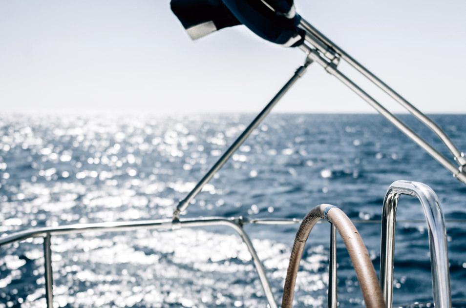 Rhodes en voilier, Grèce