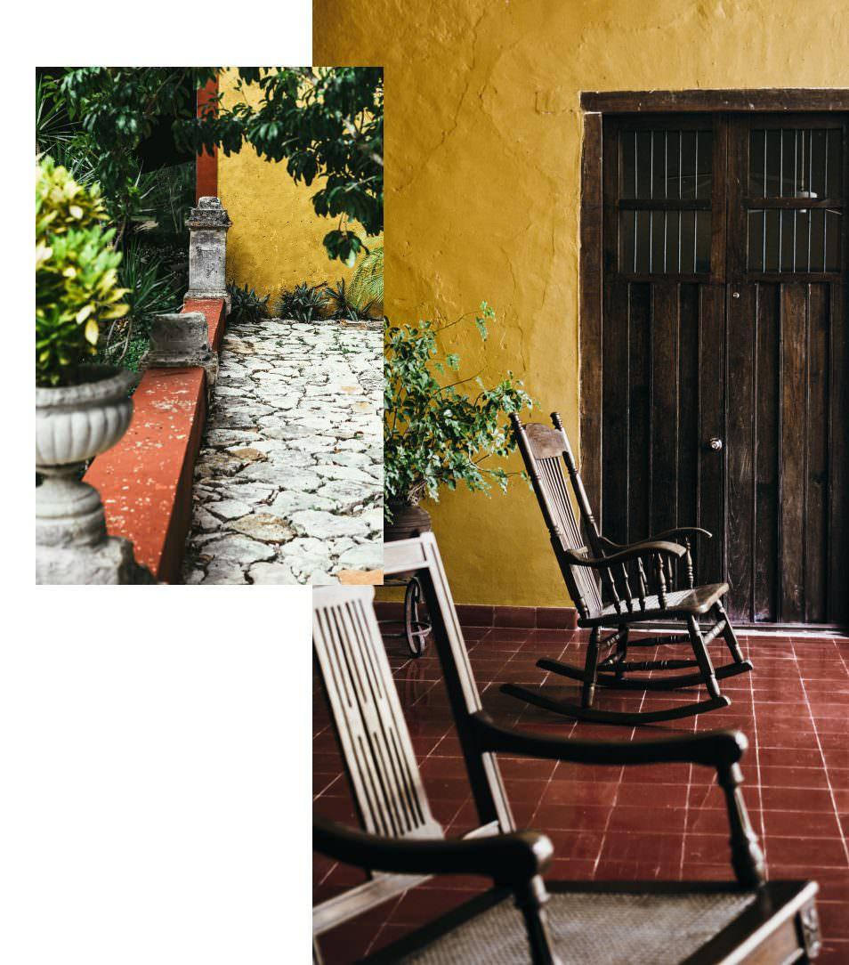 Hacienda San Jose, Deco - Mexique, Yucatan